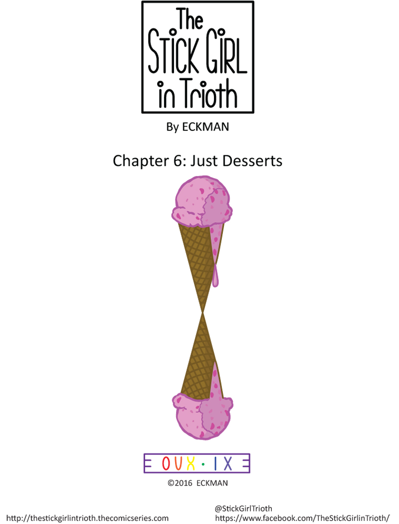 Chapter 6: Just Desserts (Title)